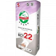 ANSERGLOB BCT22 Смесь штукатурная финишная серая 25кг