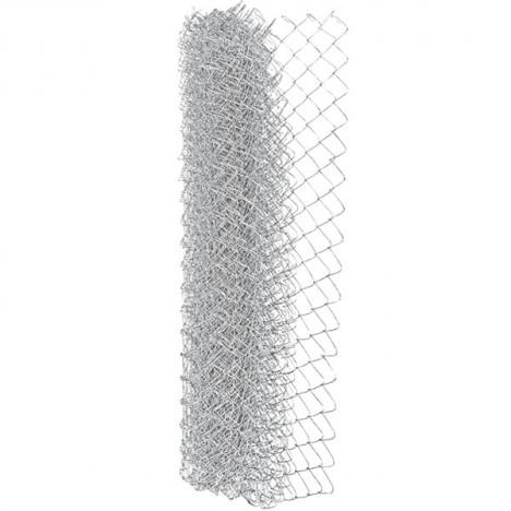 Сетка рабица оцинкованная 50x50x1.8 мм 1.5x9.5 м