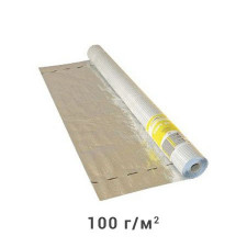 Пароизоляционная,Теплоотводная пленка Masterfol Soft Alu-e 75м2