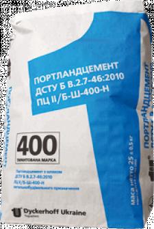 Цемент Ольшанка ПЦll/Ш 400 25кг