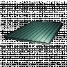 Профнастил ПС-8 1,5х0,9 Зелений