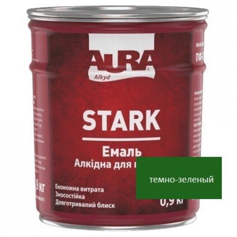 Емаль алкідна AURA Stark (темно-зеленний) 0,9кг