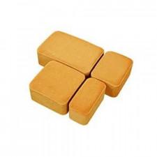 Тротуарная плитка СТАРЫЙ ГОРОД Н=40мм (оранжевая)