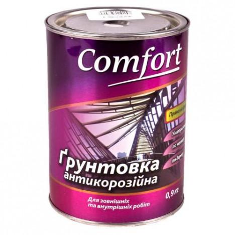 Грунт-краска COMFORT ГФ-021(серая) 0,9кг