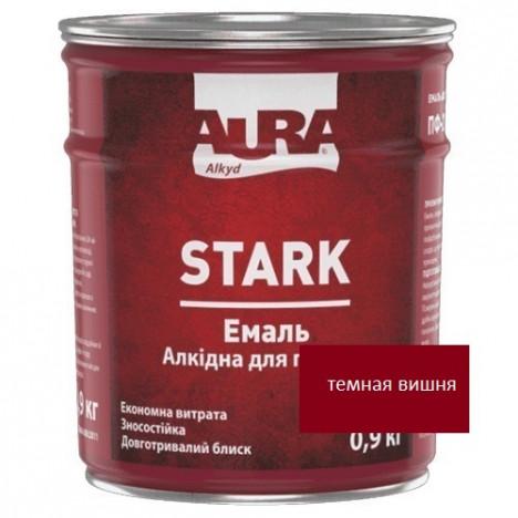 Эмаль алкидная AURA Stark (темная вишня) 0,9кг