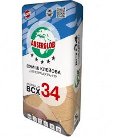 ANSERGLOB BCX-34 для керамограніту 25кг
