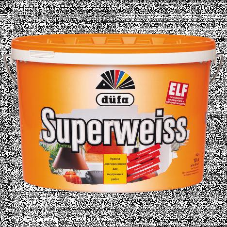 DÜFA SUPERWEISS D4 суперстійкий вінілова фарба (10 л)