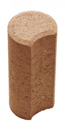 Столбик Н=200мм R100мм коричневый