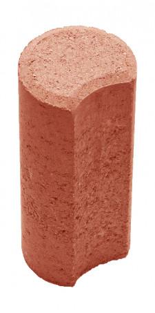 Столбик Н=200мм R100мм красный