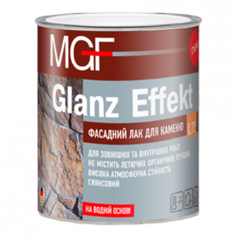 MGF Glanz Effekt фасадный лак для камня 2,5л