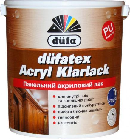 DÜFA düfatex Acryl Klarlack Панельный акриловый лак 10л