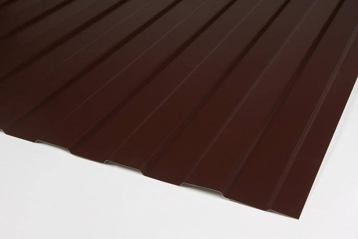 Профнастил ПС-8 2,0х0,9 Шоколад