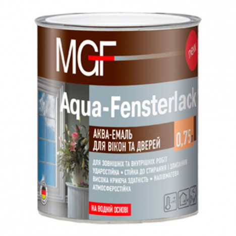 MGF Aqua-Fensterlack аква-эмаль для окон и дверей 0,75