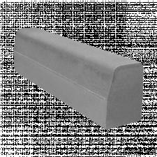 Бордюр дорожній 300х150х700мм сірий