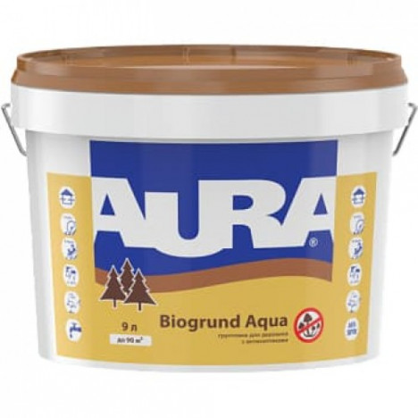 AURA Biogrund Aqua (грунтовка для дерева) 2,5л