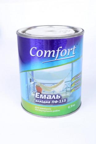 Эмаль ПФ-115 COMFORT (белая) 0,9кг