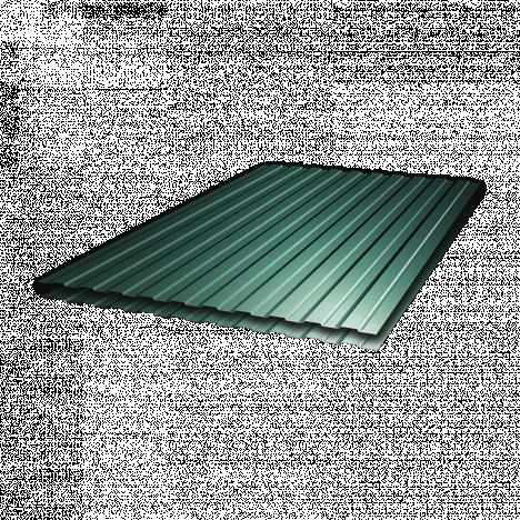 Профнастил ПС-8 1,5х0,9 Зеленый