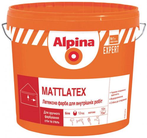 ALPINA EXPERT Mattlatex стійка латексна матова фарба 14кг