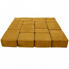 Тротуарная плитка СТАРЫЙ ГОРОД Н=40мм (желтая)