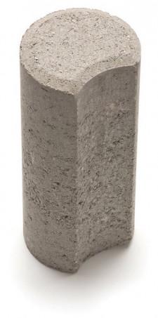Столбик Н=200мм R100мм серый