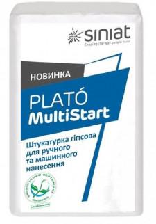 Штукатурка гипсовая машинного и ручного нанесения PLATO MultiStart 30 кг