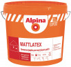 ALPINA EXPERT Mattlatex стойкая латексная матовая краска 14кг
