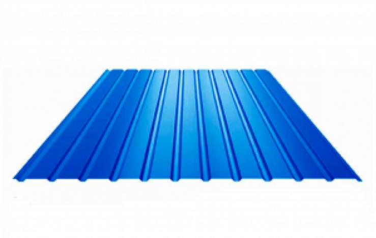 Профнастил ПС-8 2,0х0,9 Синій