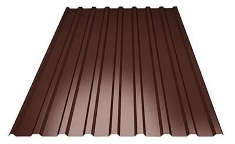 Профнастил ПС-14 1,5х1,14 Шоколад