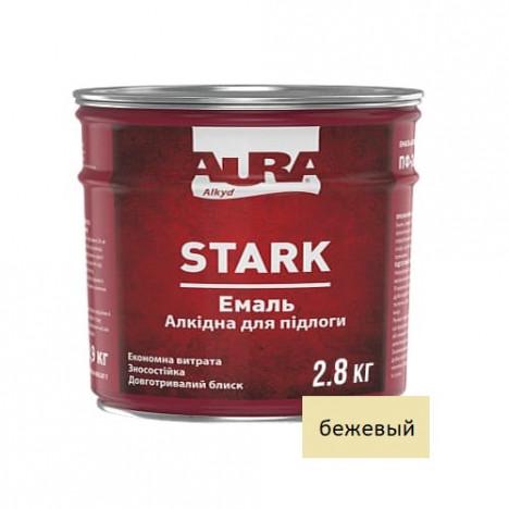 Емаль алкідна  AURA Stark  (беж.) 2,8кг