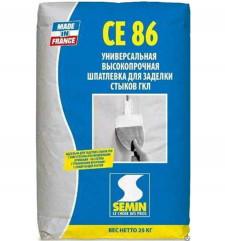 SEMIN CE-86 шпаклевка сверхпрочная 25кг