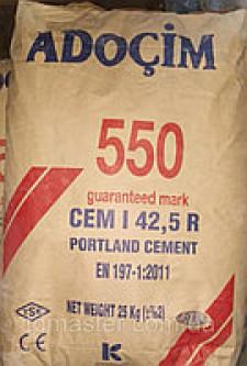 Цемент 550 ADOCIM (ТУРЕЧЧИНА) 25кг