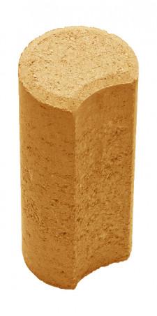 Столбик Н=200мм R100мм оранжевый