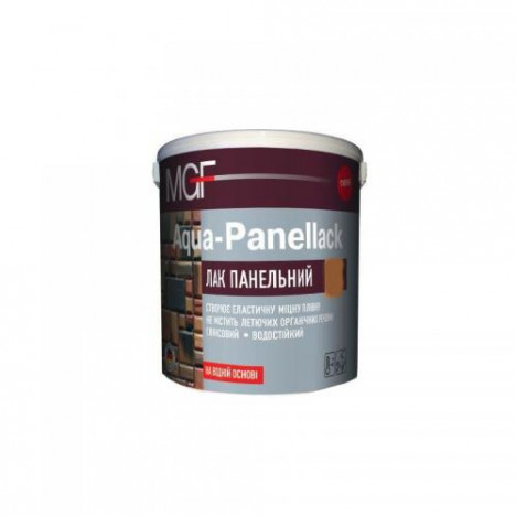 MGF Aqua-Panellack лак панельный 2,5л