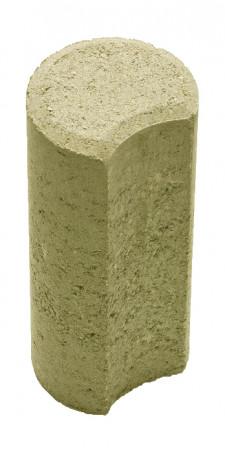 Столбик Н=200мм R100мм оливковый