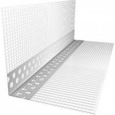 Угол алюминиевый перфор. с сеткой 2,5м