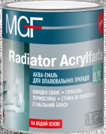 MGF Radiator Akrylfarbe аква-эмаль для отоплительных приборов 0,75л