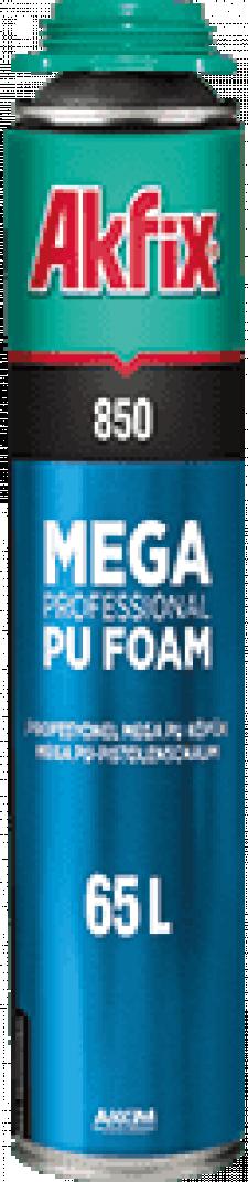 Пена монтажная AKFIX Mega 850 проф. 850мл.