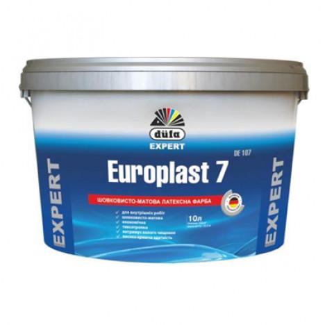 DÜFA Europlast 7 DE107 шолковисто-матовая латексная краска (10л)