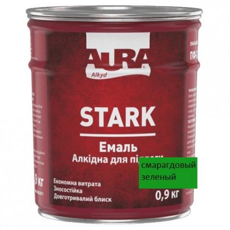 Емаль алкідна  AURA Stark   (зел.смарагдовий) 0,9кг