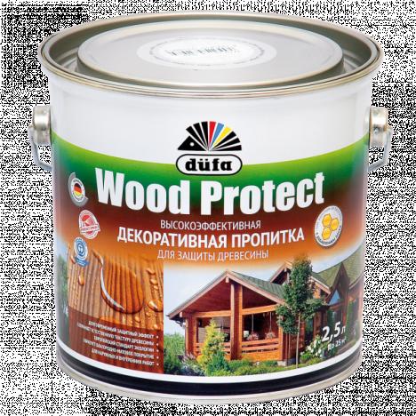 Лазурь Wood Protect Düfa (полисандр) 2,5л