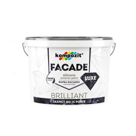 Краска для фасадная KOMPOZIT FACADE LUXE 14 kg