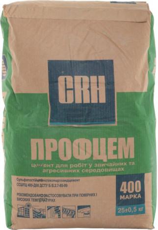 Цемент CRH ШПЦ М-400 25 кг