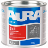 AURA Грунт-эмаль 3 в 1 (красно-коричн.) 2,5кг