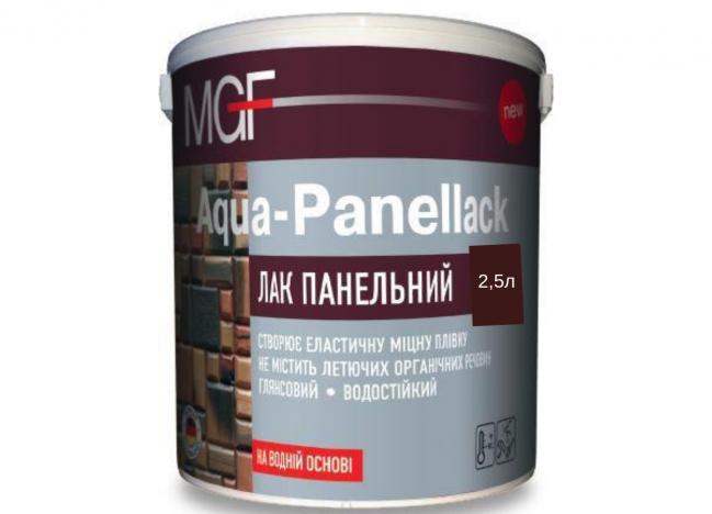 Лак для дерева AQUA-PANELLAK MGF 2,5л