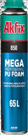 Піна монтажна AKFIX Mega 850 проф. 850мл.