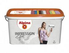 ALPINA Effekt Impression белая структурная краска для структурно-выраженных интерьеров 5л