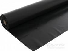 Плівка чорна 1500х80 втор.рукав