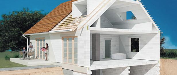 Газобетон при строительстве дома