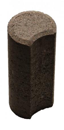 Столбик Н=200мм R100мм черный