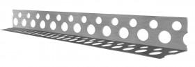Кут алюмінієвий перфор. 2,5м